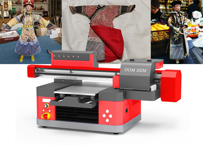 Low Noise UV Digital Printing Machine UV Flatbed Inkjet Printer With 3D Effect
