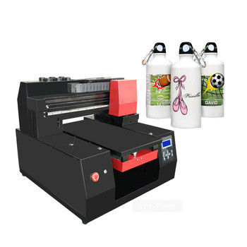 High Speed UV Flatbed Printing Machine Digital Printing On Glass Bottles